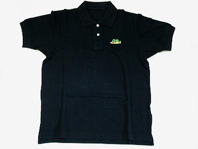 カメレオンポロシャツ 黒