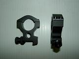 G&P:スコープ・マウントリング・ナイツタイプ(25mm径)
