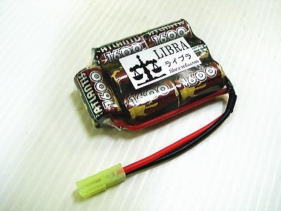 IRE:Ni-MH 8.4V 1600mAh PEQ16用