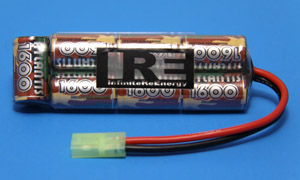 IRE:Ni-MH 8.4V 1600mAh ストレート